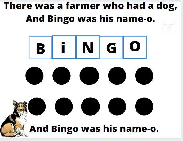 BINGO song board