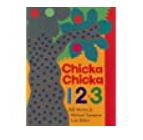Image of Book Cover: Chicka Chicka 123. Large dotted tree on front cover.