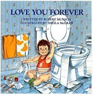 Book cover: Love you forever