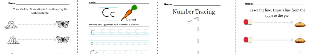unabashed kids writing worksheets