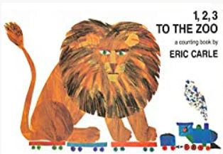 1, 2, 2 To the Zoo, 1968 by Eric Carle