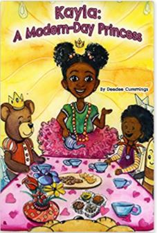 35. Kayla the Modern Day Princess by Deedee Cummings, illustrated by Charlene Mosley