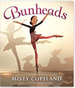 3. Bunheads by Misty Copeland illustrated by Setor Fiadzigbey