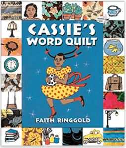 37. Cassie's Word Quilt by Faith Ringgold