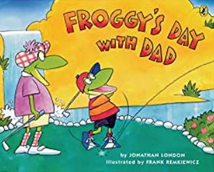 Book Cover Froggy's Day with Dad