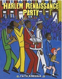 42. Harlem Renaissance Party by Faith Ringgold