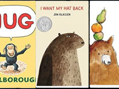 Collage of easy picture books