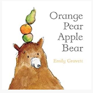 Orange Pear Apple Bear (Classic Board Books)