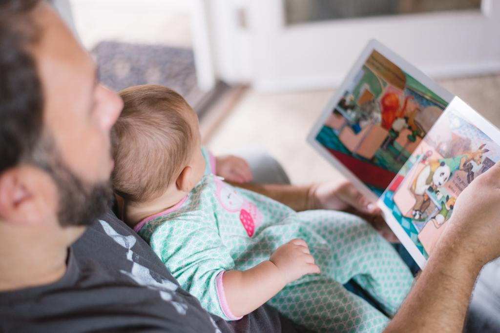 Reading with a father
