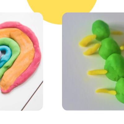 child's play dough creation
