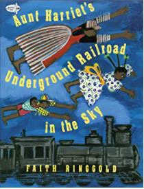 40.Aunt Harriet's Underground Railroad in the Sky by Faith Ringgold