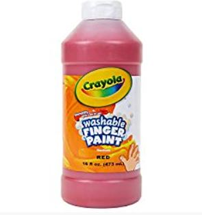 Crayola Red Paint