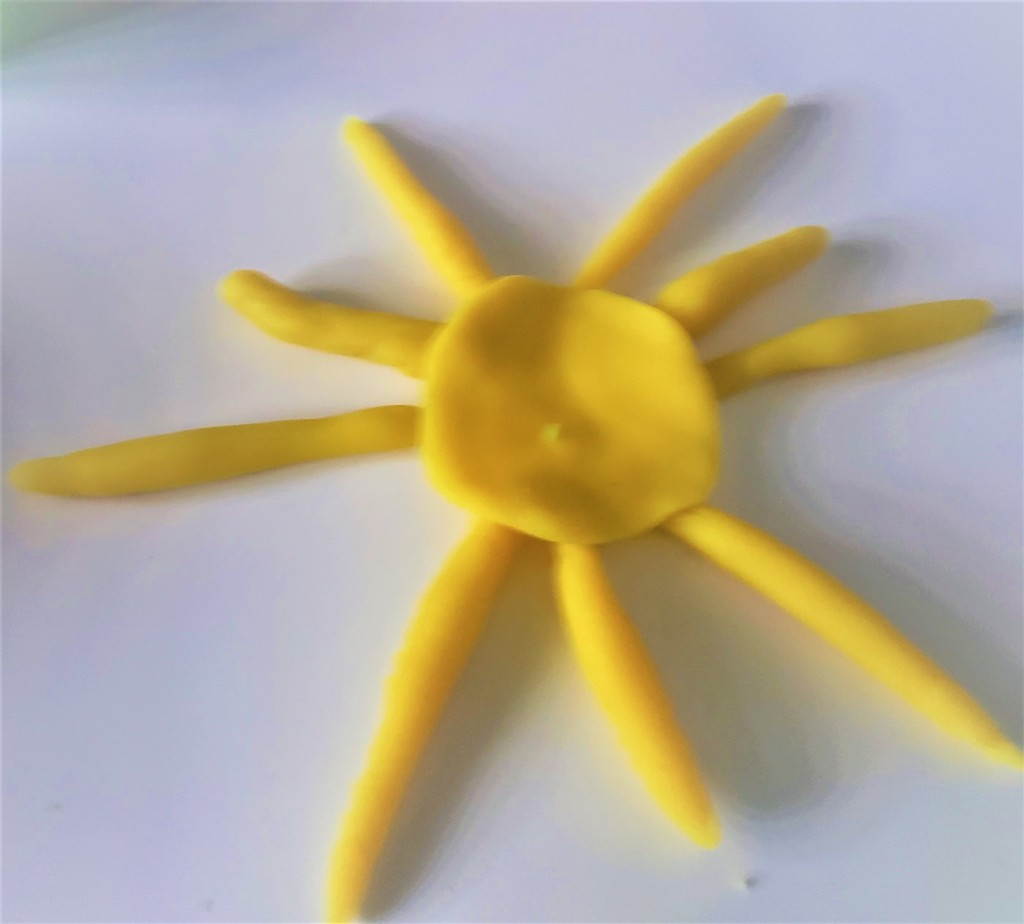 playdoh sun