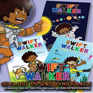 23. Swift Walker Science and Geography Books for Kids by Verlyn Tarlton, illustrated by Ravhsan Karimov