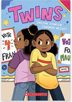 17. Twins: A Graphic Novel by Varian Johnson, illustrated by Shannon Wright
