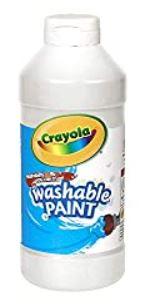 Crayola White Paint