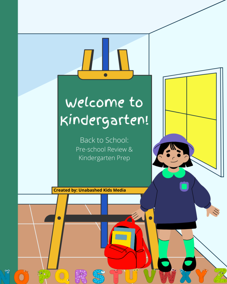 Welcome to Kindergarten Workbook