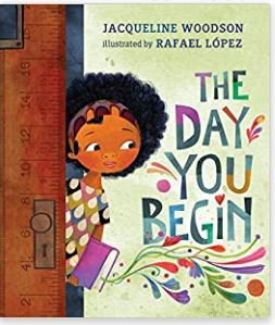 """""""The Day You Begin"""" book is on the Unabashed Kids back to school list."""