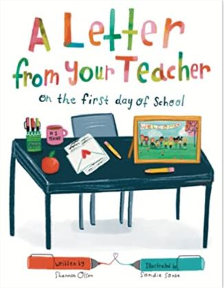 """""""A Letter From Your Teacher"""" book is on the Unabashed Kids back to school list."""