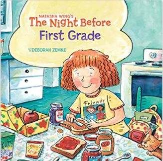 The night before first grade book is on the Unabashed Kids back to school list.