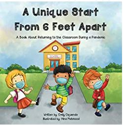 """""""Unique Start from 6 Feet Apart"""" book is on the Unabashed Kids back to school list."""