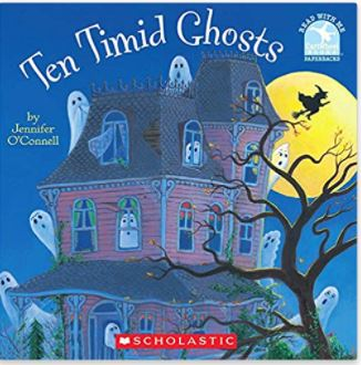 10 Timid Ghosts by Jennifer O'Connell