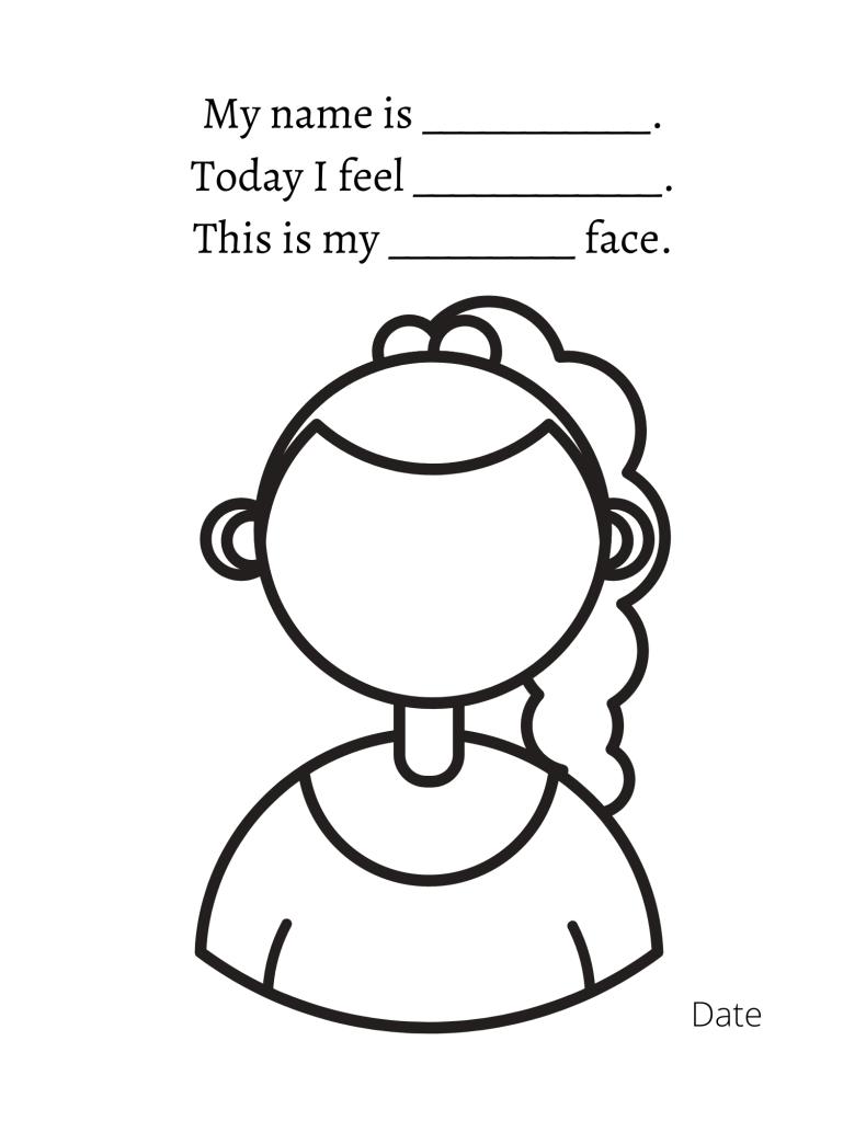 how am i feeling today worksheet
