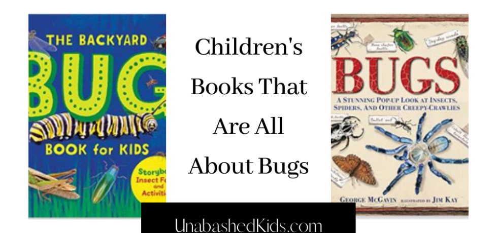 Children's books that are all about bugs