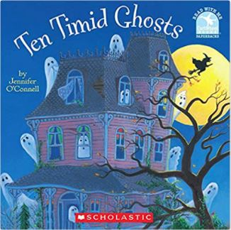 Ten Timid Ghost by Jennifer O'Connell