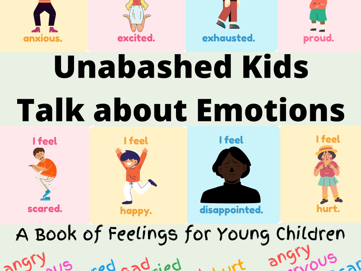 Emotions and feelings book for kids